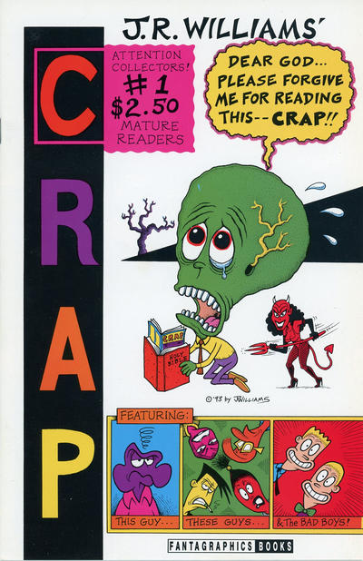 Cover for Crap (Fantagraphics, 1993 series) #1