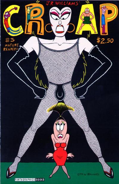 Cover for Crap (Fantagraphics, 1993 series) #3