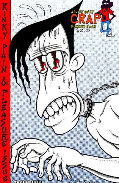 Cover for Crap (Fantagraphics, 1993 series) #4