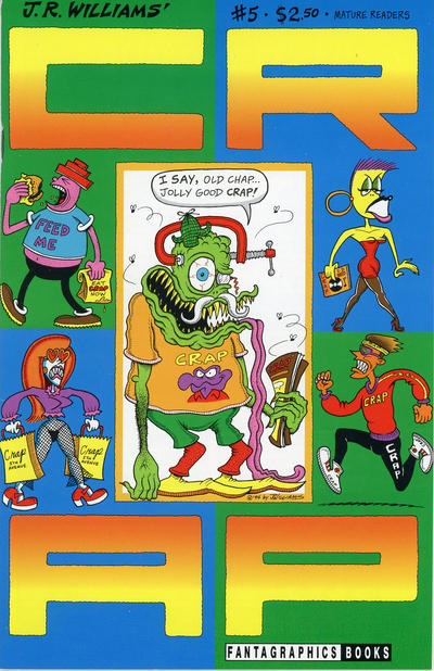 Cover for Crap (Fantagraphics, 1993 series) #5