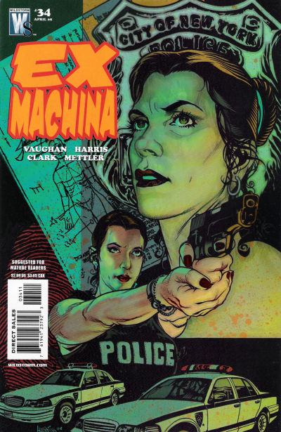 Cover for Ex Machina (DC, 2004 series) #34