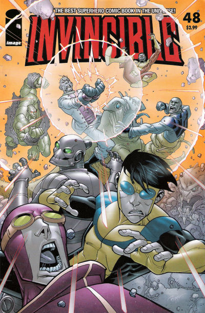Cover for Invincible (Image, 2003 series) #48