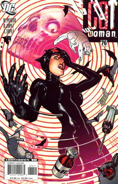 Cover for Catwoman (DC, 2002 series) #76