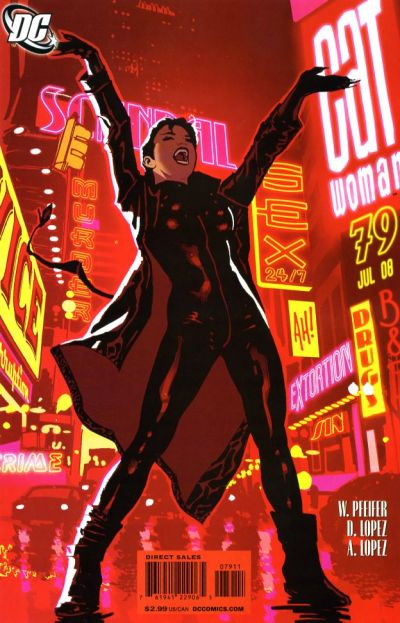Cover for Catwoman (DC, 2002 series) #79