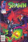 Cover Thumbnail for Spawn (1992 series) #1 [Newsstand]