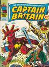 Cover for Captain Britain (Marvel UK, 1976 series) #29