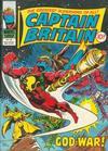 Cover for Captain Britain (Marvel UK, 1976 series) #36