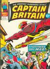 Cover for Captain Britain (Marvel UK, 1976 series) #39