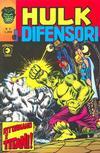Cover for Hulk E I Difensori (Editoriale Corno, 1975 series) #3