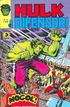 Cover for Hulk E I Difensori (Editoriale Corno, 1975 series) #4