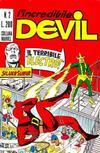 Cover for L' Incredibile Devil (Editoriale Corno, 1970 series) #2