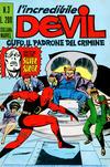 Cover for L'Incredibile Devil (Editoriale Corno, 1970 series) #3