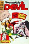 Cover for L'Incredibile Devil (Editoriale Corno, 1970 series) #6