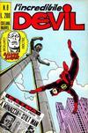 Cover for L' Incredibile Devil (Editoriale Corno, 1970 series) #8
