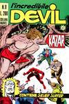 Cover for L'Incredibile Devil (Editoriale Corno, 1970 series) #11