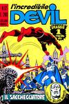 Cover for L'Incredibile Devil (Editoriale Corno, 1970 series) #12