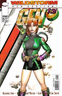 Cover Thumbnail for Gen 13 (Image, 1995 series) #25 [Charest Cover]