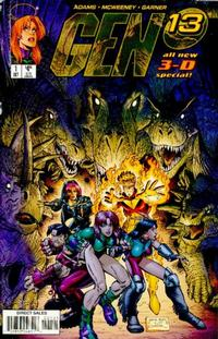 Cover Thumbnail for Gen 13 3D Special (Image, 1997 series) #1 [Art Adams Cover Variant]