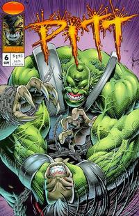 Cover Thumbnail for Pitt (Image, 1993 series) #6
