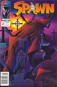 Cover Thumbnail for Spawn (Image, 1992 series) #2 [Newsstand]