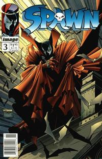 Cover Thumbnail for Spawn (Image, 1992 series) #3 [Newsstand]