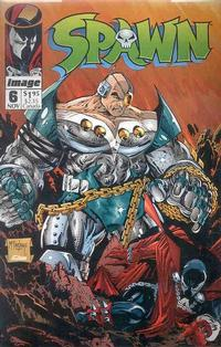 Cover Thumbnail for Spawn (Image, 1992 series) #6 [Direct]