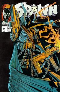 Cover Thumbnail for Spawn (Image, 1992 series) #7