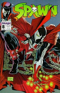 Cover Thumbnail for Spawn (Image, 1992 series) #8 [Direct]