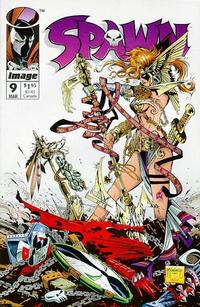 Cover Thumbnail for Spawn (Image, 1992 series) #9 [Direct Edition]