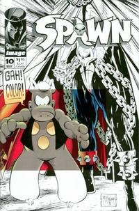 Cover Thumbnail for Spawn (Image, 1992 series) #10 [Direct]