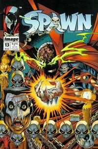 Cover Thumbnail for Spawn (Image, 1992 series) #13 [Direct]