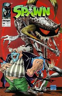 Cover Thumbnail for Spawn (Image, 1992 series) #14 [Direct]