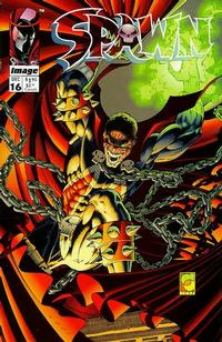 Cover Thumbnail for Spawn (Image, 1992 series) #16 [Direct]
