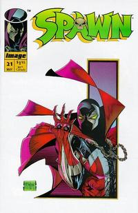 Cover Thumbnail for Spawn (Image, 1992 series) #21