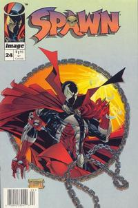 Cover Thumbnail for Spawn (Image, 1992 series) #24