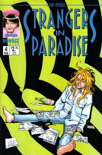 Cover Thumbnail for Terry Moore's Strangers in Paradise (Image, 1996 series) #4