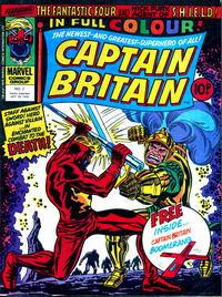 Cover Thumbnail for Captain Britain (Marvel UK, 1976 series) #2