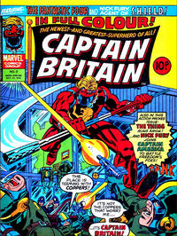 Cover Thumbnail for Captain Britain (Marvel UK, 1976 series) #3