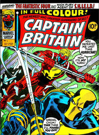 Cover for Captain Britain (Marvel UK, 1976 series) #5