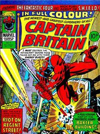 Cover Thumbnail for Captain Britain (Marvel UK, 1976 series) #8