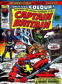 Cover Thumbnail for Captain Britain (Marvel UK, 1976 series) #10