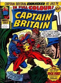 Cover Thumbnail for Captain Britain (Marvel UK, 1976 series) #15