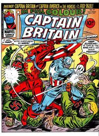 Cover Thumbnail for Captain Britain (Marvel UK, 1976 series) #17
