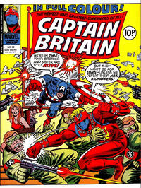 Cover Thumbnail for Captain Britain (Marvel UK, 1976 series) #20