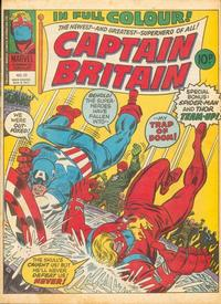 Cover Thumbnail for Captain Britain (Marvel UK, 1976 series) #22