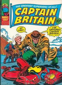 Cover Thumbnail for Captain Britain (Marvel UK, 1976 series) #32