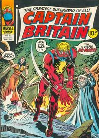 Cover Thumbnail for Captain Britain (Marvel UK, 1976 series) #35