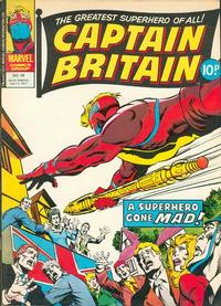 Cover Thumbnail for Captain Britain (Marvel UK, 1976 series) #39