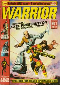 Cover Thumbnail for Warrior (Quality Communications, 1982 series) #1