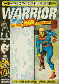 Cover Thumbnail for Warrior (Quality Communications, 1982 series) #2